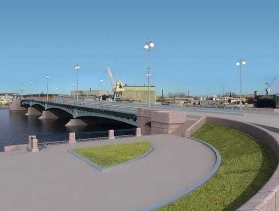 Выбранный проект Ново-Адмиралтейского моста