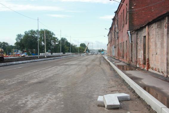 Реконструкция набережной реки Екатерингофки
