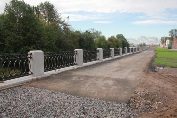 Реконструкция набережной Екатерингофки, ограда