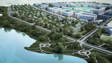 Проект нового жилого микрорайона в Пушкине