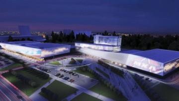 Ледовый стадион СКА. Проект.