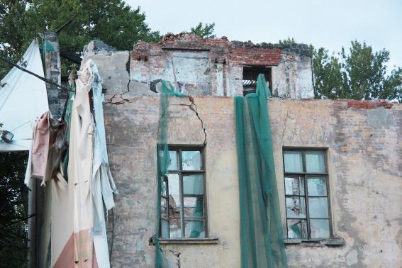 Снос общежития ГУАПа на Гастелло