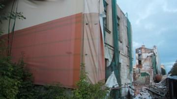 Снос общежития на Гастелло