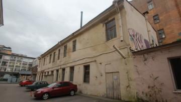 Разборка здания на Загородном проспекте, дом 19а, литера В