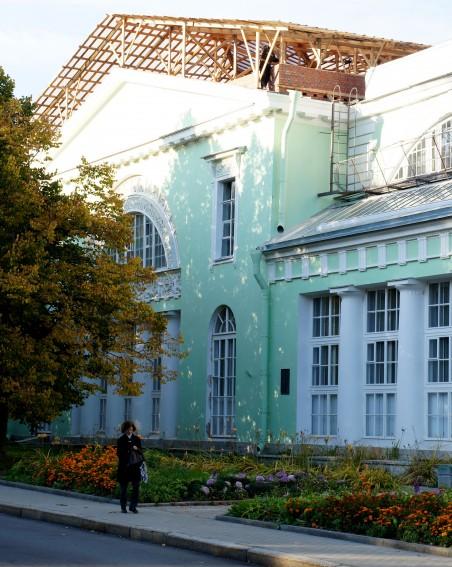 Большая оранжерея в Пушкине