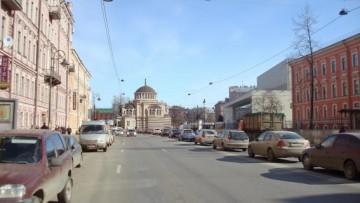 Проект греческой церкви на месте касс БКЗ Октябрьский на Лиговском проспекте