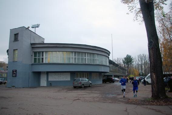 Здание рядом со стадионом «Динамо», ресторан «Грелка»