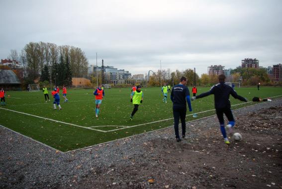 Тренировочный стадион на территории «Динамо»