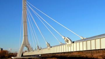 Дудергофский канал, вантовый мост