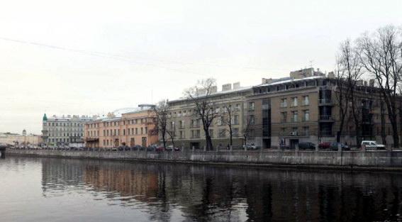 Фонтанка, 3а, проект гостиницы, апартаментов на месте блокадной подстанции