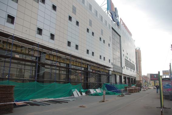 Фасад ТК «Гулливер»