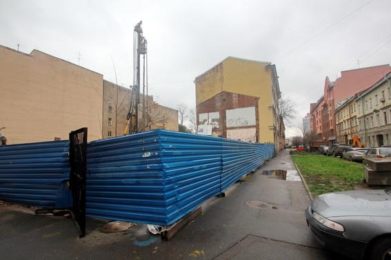 Климов переулок, 4, стройплощадка детского сада