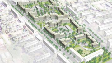 Проект реновации 10 квартала в Колпине