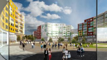 Проект реновации 10-го квартала в Колпине