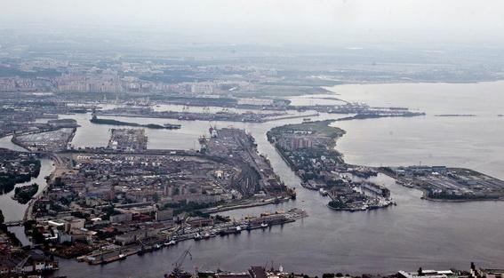 Морской порт Санкт-Петербург