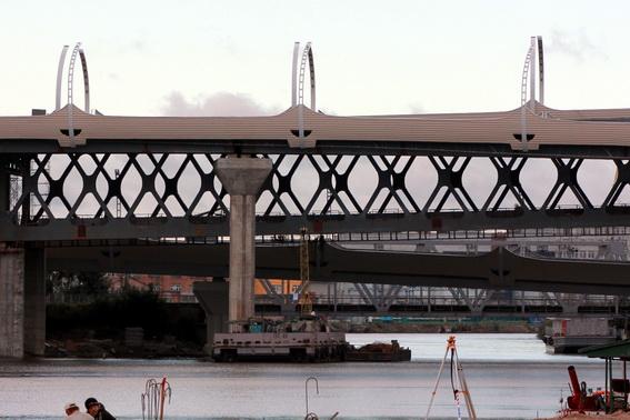Мосты ЗСД над Екатеринофкой