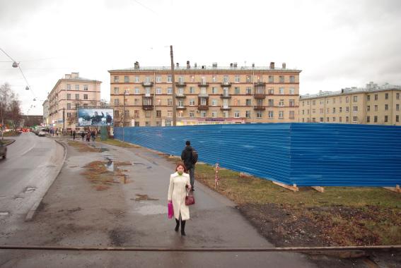 Площадка под строительство нового суда в Невском районе, 2011 год
