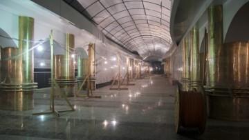 Нижний вестибюль станции метро Международная