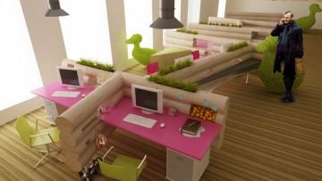 Офис творческой компании