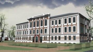 Проект воссоздания училищного дома в Рыбацком