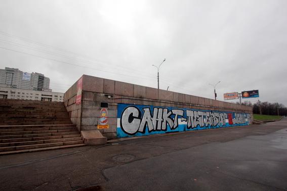 Пристань Речного вокзала, выход из подземного перехода