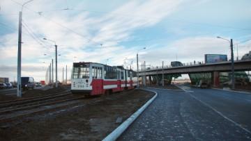 Путепровод над улицей Савушкина