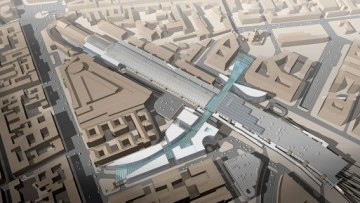Концепция реконструкции Московского вокзала