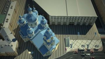 Реконструкция Сенной площади, вид сверху