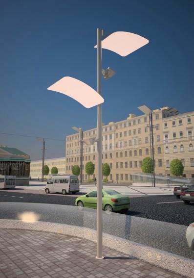 Реконструкция Сенной площади, освещение