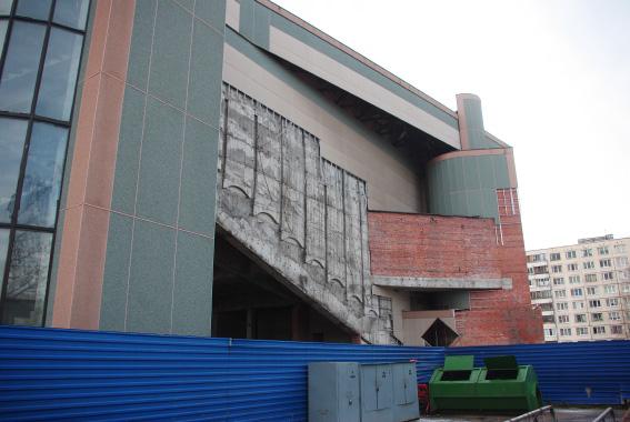 Разбор кинотеатра у «Пионерской»