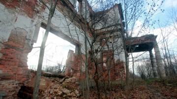 Руины усадьбы Самойловой