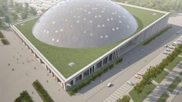 Легкоатлетический стадион у СКК. Проект