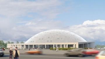 Проект легкоатлетического стадиона у СКК на Юрия Гагарина