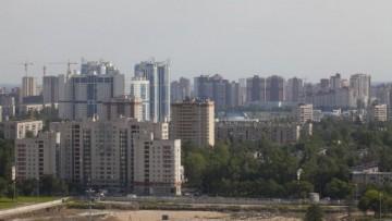 Стройплощадка нового стадиона легкой атлетики у СКК. Вид сверху