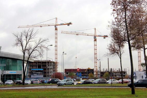 Строительство жилого дома на Пулковском