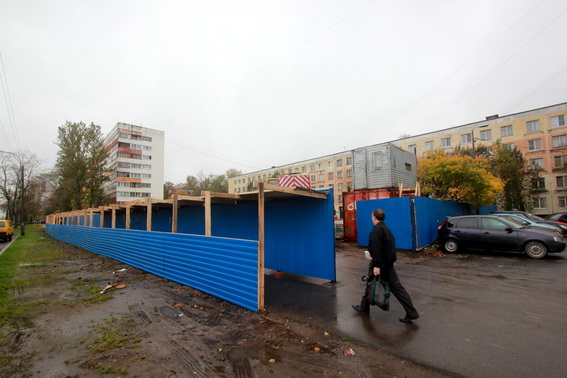 Стройплощадка магазина на Дачном проспекте, 5