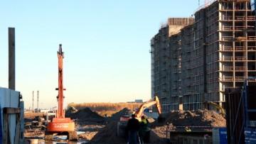 Строительство проспекта Героев