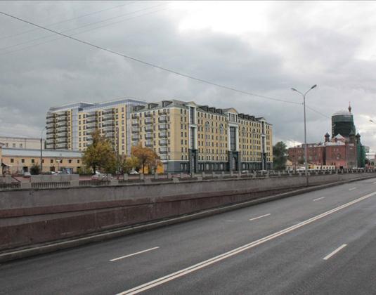 Эскиз жилого комплекса «Тапиола»