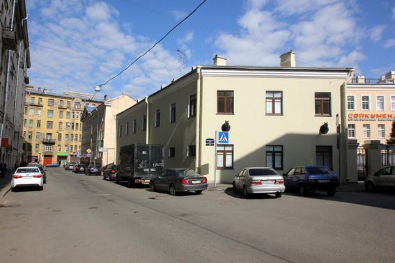 Ветеринарная станция Центрального района на Коломенской улице, 45