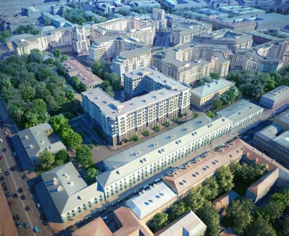 Жилой дом на улице Радищева, 39, литера М
