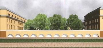 Развертка по Большому проспекту Васильевского острова