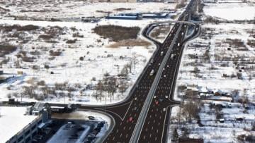Проект развязки Колпинского шоссе с Московским шоссе