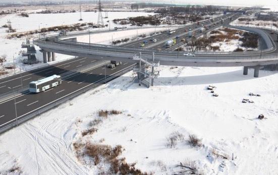 Проект развязки Колпинского шоссе с Московским