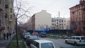 Возведение храма Ксении Петербургской на Лахтинской улице