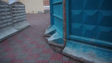 Плитка вокруг места строительства
