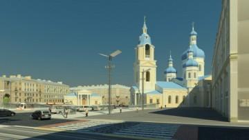 Церковь Успения Пресвятой Богородицы на Сенной площади