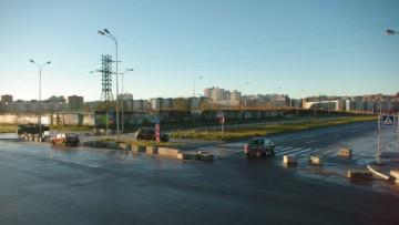 Перекресток Долгоозерной улицы и Парашютной