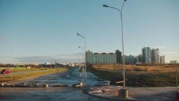 Новый участок Долгоозерной улицы от Королева