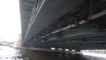Конструкции Дворцового моста