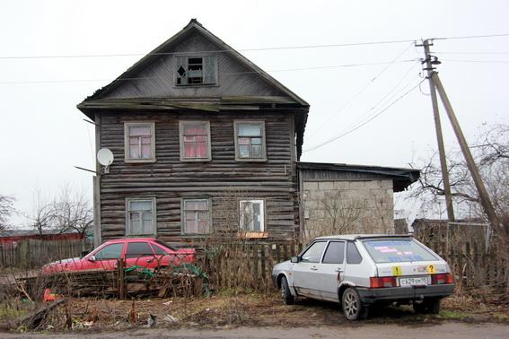 Двухэтажный дом в Каменке